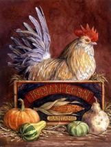 Rooster by Lorraine Ryan