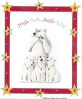 Christmas Polar Bears by Barbara Gibson
