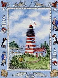West Quoddy Light, Lighthouse, Maine