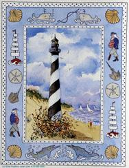 Hatteras Light, lighthouse, border