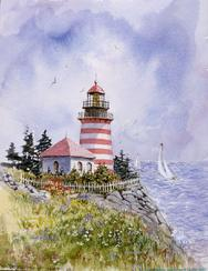 West Quoddy, lighthouse