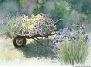 Wheelbarrow by Judy Mizell