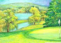 Cooperstown Golf by Judith Cheng