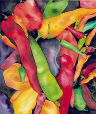 Peppers by Jessica Sporn
