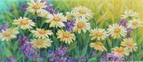 Daisies by Linda Elliott
